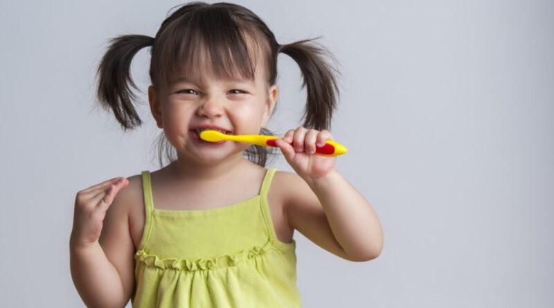 Уход за зубами ребёнка